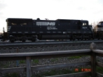 NS 8674 runs long hood forward WB
